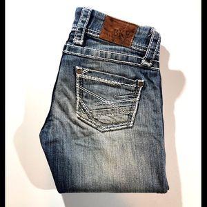 BKE distressed straight STELLA Jeans size 25